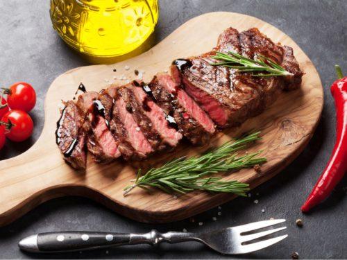 Ny Strip Beef Prime Free Delivery Dallas