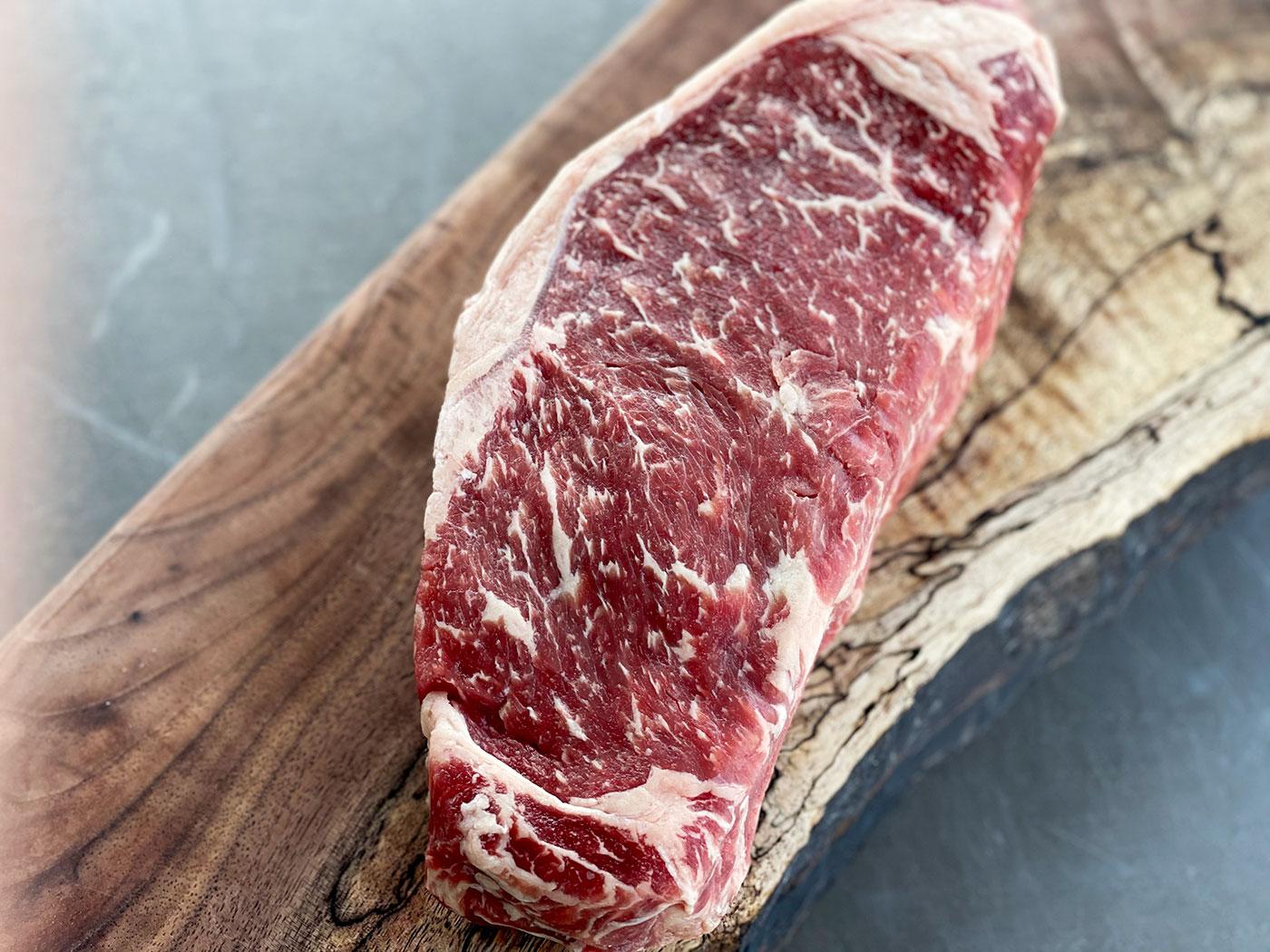Fresh Prime Beef NY Strip Steak 16 oz